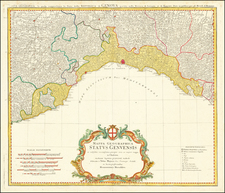 Northern Italy Map By Homann Heirs