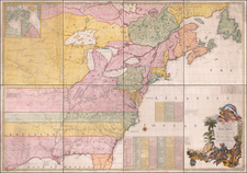 New England, Mid-Atlantic, South, Southeast, Texas, Midwest, Plains and North America Map By John Mitchell