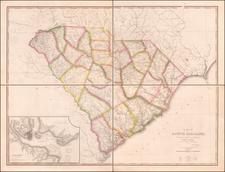 Southeast and South Carolina Map By John Wilson