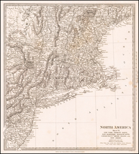 New England and Mid-Atlantic Map By SDUK