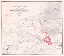 Colorado and Colorado Map By James Underhill