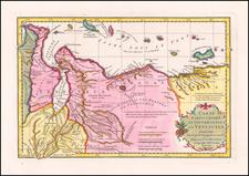 Venezuela Map By Jean-Baptiste Bourguignon d'Anville