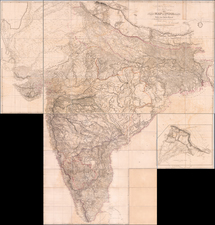India Map By Aaron Arrowsmith