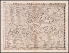 Hispaniola Map By Giacomo Gastaldi