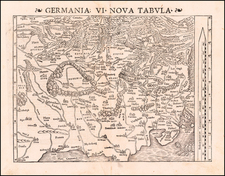 Germania VI Nova Tabula By Sebastian Munster