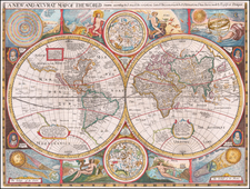 World Map By Robert Walton