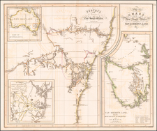 Australia Map By John Thomson