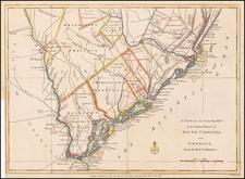 Southeast and South Carolina Map By Political Magazine