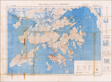 Hong Kong and World War II Map By Inter-Services Topographic Department