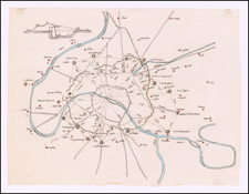 Paris Map By Anonymous