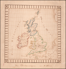 British Isles Map By Anonymous