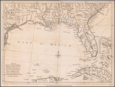 Florida, South, Southeast and American Revolution Map By John Lodge