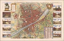 Map By Wenceslaus Hollar