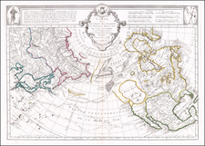 Alaska and North America Map By Paolo Santini