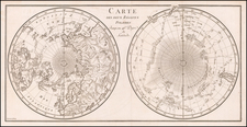 World and Polar Maps Map By Anonymous