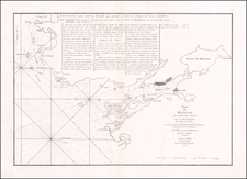 Eastern Canada Map By George Louis Le Rouge