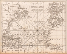 Atlantic Ocean Map By Thomas Bowen