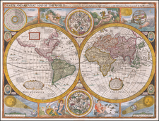 A New and Accurat Map of the World Drawne according to ye truest Descriptions lastest Discoveries & best observations yt have beene made by English or Strangers. 1626. By John Speed