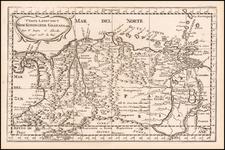 Colombia and Venezuela Map By Nicolas Sanson