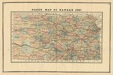 Plains Map By H.R. Page  &  Co.