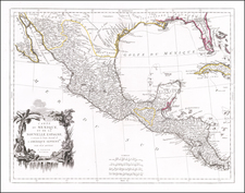 Florida, South, Texas and Mexico Map By Paolo Santini
