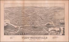 Maine Map By J.J. Stoner / Beck & Pauli