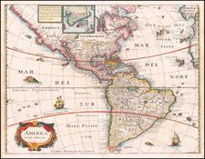 America noviter delineata By Matheus Merian