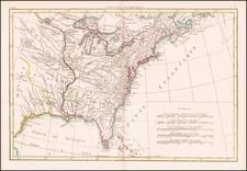 United States Map By Rigobert Bonne