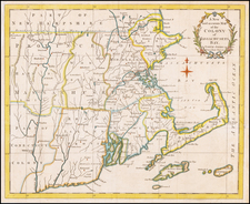 A New and Accurate Map of the Colony of Massachusets Bay, In North America from a Late Survey By Universal Magazine