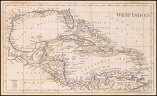 Caribbean Map By Anonymous