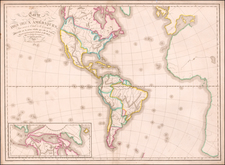America Map By Eustache Herisson