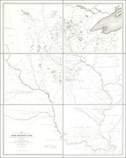 Midwest, Minnesota, Plains, Iowa, Missouri and Nebraska Map By John Charles Fremont  &  Joseph N. Nicollet