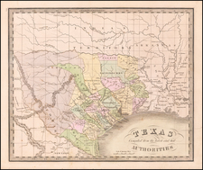 [Republic of Texas]  Texas Compiled from the latest and best Authorities. By Jeremiah Greenleaf