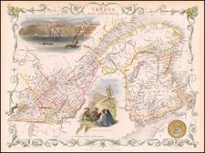 Canada Map By John Tallis
