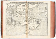 Atlases and Rare Books Map By Sebastian Munster