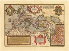 Romani Imperii Imago By Abraham Ortelius