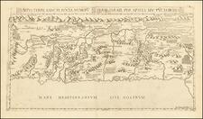Holy Land Map By Donato Bertelli