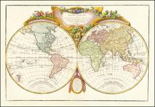 World Map By Jean Janvier