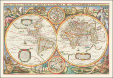 World Map By Henri Le Roy / Michel Van Lochem