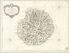 African Islands, including Madagascar Map By Depot de la Marine