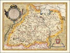 Moraviae, Quae Olim Marcomannorum Sedes Corographia . . . By Abraham Ortelius