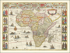 Africae nova descriptio . . . By Willem Janszoon Blaeu