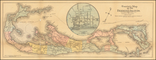 Bermuda Map By James H. Stark
