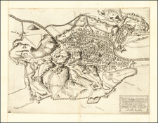 Rome Map By Antonio Lafreri / Nicolas Beatrizet