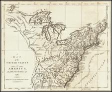 United States Map By John Fielding / European Magazine