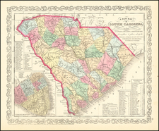 South Carolina Map By Charles Desilver