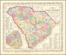 South Carolina Map By Charles Desilver