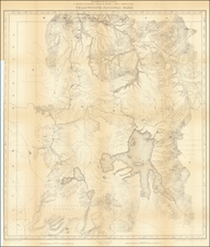 Wyoming Map By U.S. Geological Survey