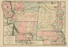 Midwest, Plains and Rocky Mountains Map By J. David Williams