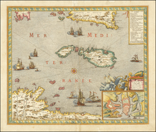 Malta Map By Guillaume Danet